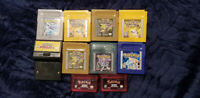 Gameboy Game/Console Collection! Advance/Color/Original