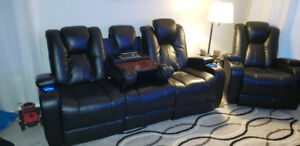 Sofa and chair electric recliner