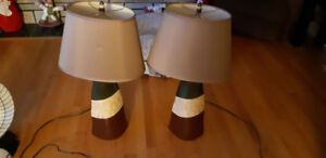 MATCHIG TABLE LAMPS
