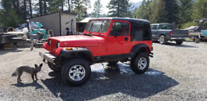 1995 and 1992 YJ's Project,new lower price.