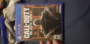 Ps4 black ops 3 like new played only 3 times