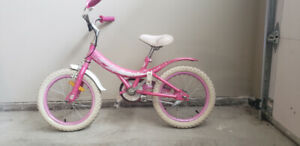 Pink hello kitty bicycle