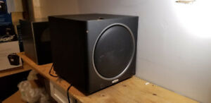 Polk Audio PSW125 Subwoofer Sub 12 Pouce 300watt