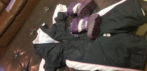 12-18 month infant skidoo suit with winter boots