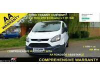 2018 Ford Transit Custom 2.0 290 L1 H1, 1 OWNER, FSH , 48K, EU 6- 1 OWNER, FSH,