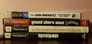 Jeux PS2 et PS3 @ 5$ chaque