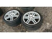 2009 Mercedes-Benz E Class AMG 220 Tyres In Good Condition For Sale Estate Petro