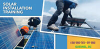 Solar Installation Training Coming to Quesnel, BC