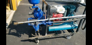 Diaphragm Pump with Gas powered Compressor