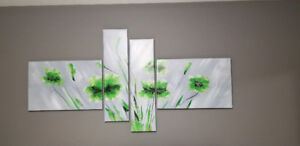 Canvas Art Print (4 piece)
