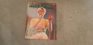 Music Express Magazine with David Bowie---Call:  416.830.1950