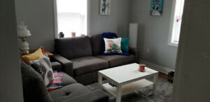 1 BEDROOM PLUS DEN IN LEGAL DUPLEX WITH ON-SITE LAUNDRY AND AC