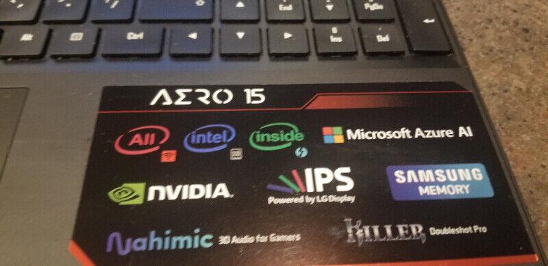 Gaming laptop gigabyte aero 15-x9