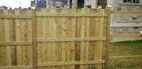 Fencing Materials Available for Purchase