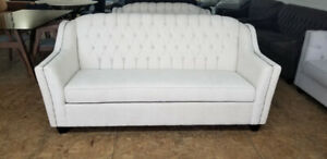 Brand New 3pc Elegant Tufted Sofa Set - Made in Canada