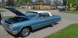 HOT SUMMER RIDE !!!!!!!!!!!!!  1964 Impala SS   SOLD SOLD SOLD