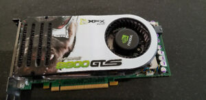 XFX Geforce 8800 GTS 640 MB dual DVI video card
