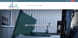 SELF DUMPING HOPPERS ON SALE. LOCALLY MADE. LOWEST PRICE Kitchener / Waterloo Kitchener Area image 1