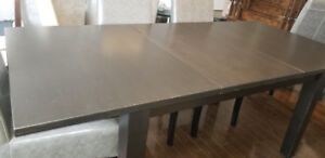 Ikea Stornas Solid Hard Wood Extendable Dining Table
