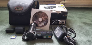 Sony Handycam ,Battery ,Charger ,Bag & Box,