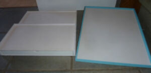 2 (Jewellery) display boards $ 5 each