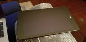 """LG G pad 4 8"""" tablet. 10/10 cond. Case.micro sd card. Earphones"""