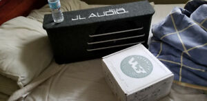 JL AUDIO HO110RG-W3V3 subwoofer box with new 10""