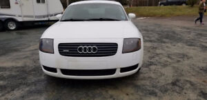 2002 Audi TT trade for Large trailer-able boat.
