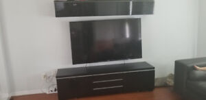 Moving sale\ sectional and tv unit
