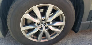 18 inch rims and tires mazda