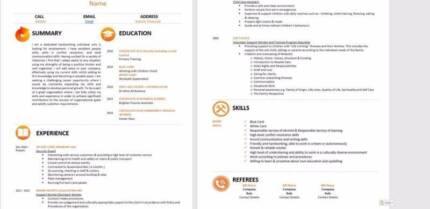 Resume & Cover Letter writer