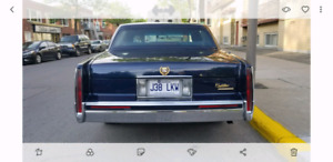 Cadilac Sedan de ville 1993 ( GOLD ÉDITION ) André 514-913-7567