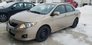 "2009 TOYOTA COROLLA LE "" TOP OF THE LINE"" SAFETIED - EXCELLENT"