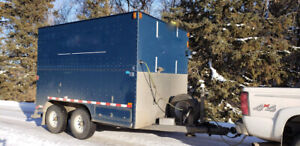 2014 Silver Eagle Mfg Model GP-70 Cargo/Utility Enclosed Trailer