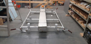 Commercial Roof Rack with Utility Box and Light
