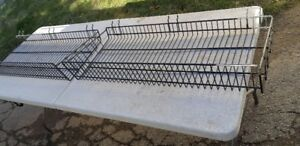 4 LARGE SLAT WALL TOOL OR SUPPLIES BASKETS