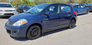 2008 Nissan Versa Hatch *** 2 SETS OF TIRES, Power Opts, AC ***