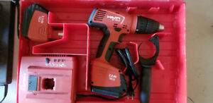 Hilti SF 151-A Drill + 2 15.6V Batteries + C7/24 Charger + Case