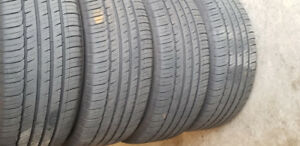 245/50/R18 Michelin  Primacy MXM4 on alloy rim & matching winter