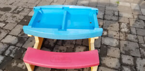 Large Playskool Sand / Water / Picnic Table