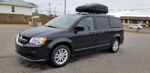 Dodge grand caravan, 2016, sxt, stow and go, DVD