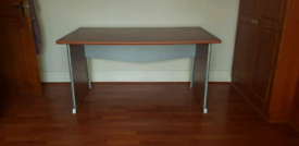 Desk and drawer