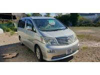 TOYOTA ALPHARD 2 BERTH CAMPERVAN WITH ROCK AND ROLL BED