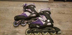Expandable rollerblades 4 to 8