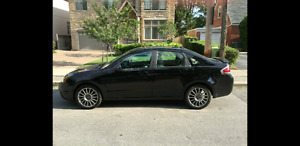 2010 Ford Focus SES, Black, Fully Loaded, Low Mileage