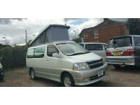Toyota Granvia 4 Berth Campervan with Full Side Conversion AND ROOF