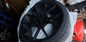Sst of 4 19 inch fo us rs forged rims and tires