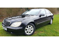 Mercedes-Benz S320 3.2TD 3244cc auto 2001MY S320 CDi Black