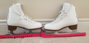 Glacier Jackson 520 leather Ice skating worn only once