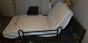 Hospital electric powered bed
